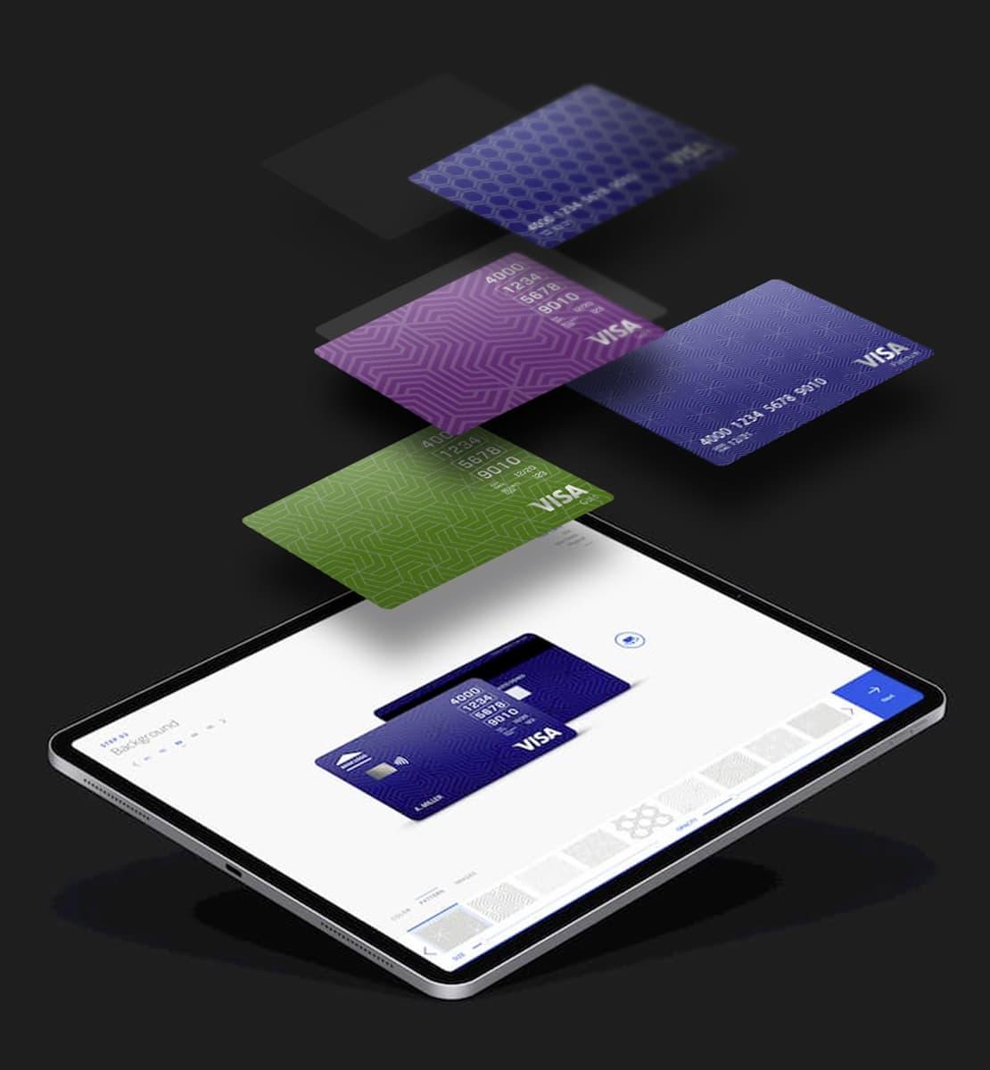 How we built the Visa Card Designer