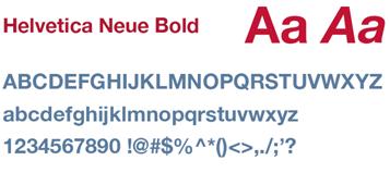 Delta - Font Helvetica Neue Bold