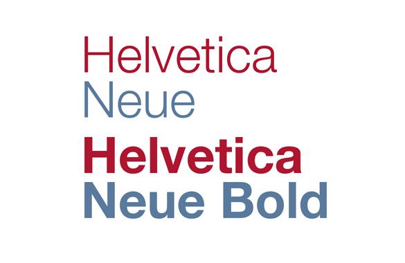 Delta - Helvetica styles