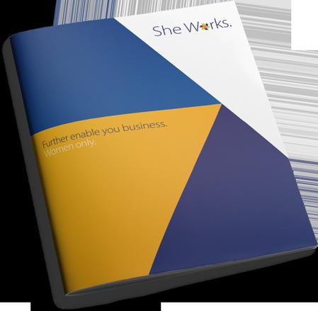 She Works - Brochure