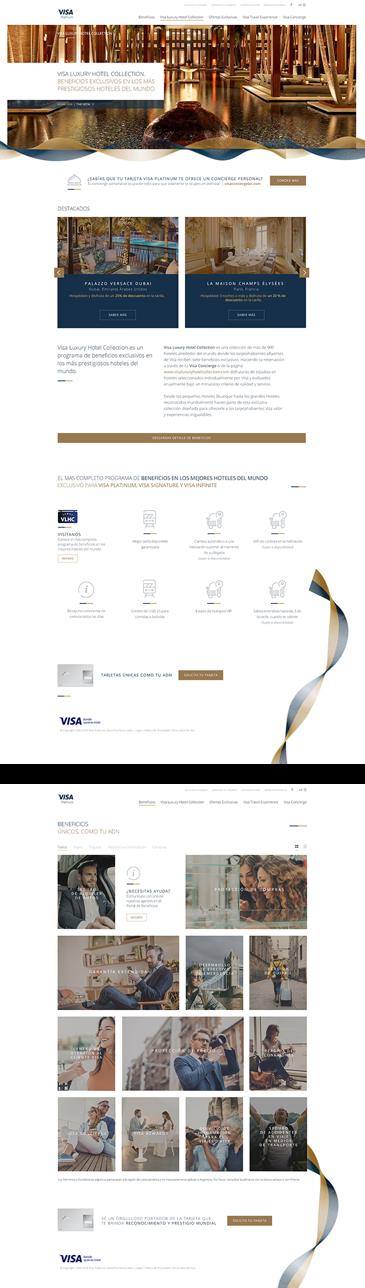 Visa Affluent - Screenshot