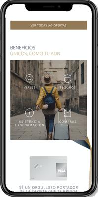 Visa Affluent - Cellphone