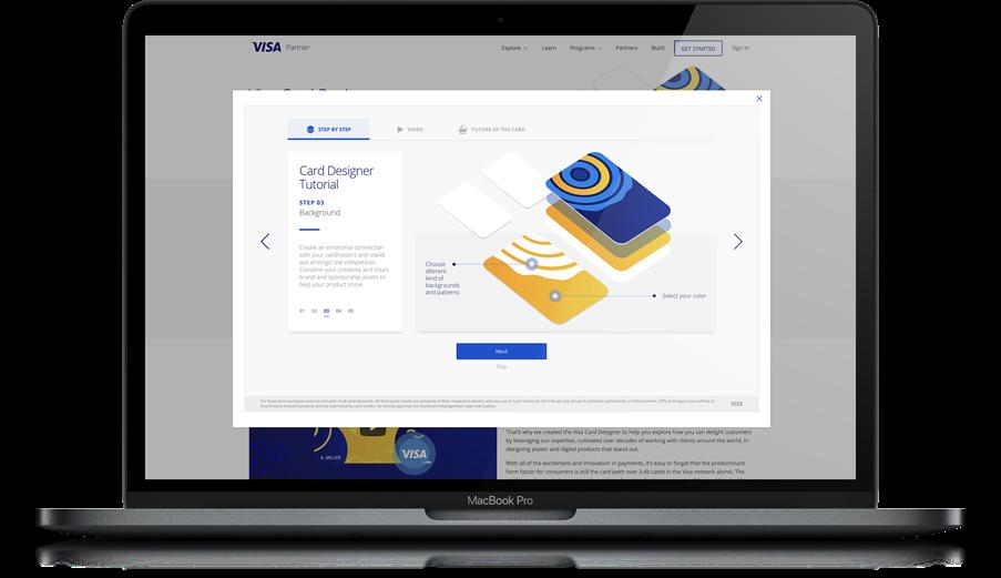 Visa Card Designer - Brochure