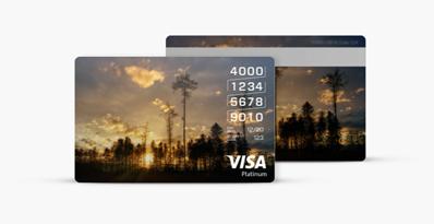 Visa Card Designer - Card