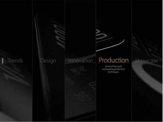 Visa Innovation Card Lab - Prodution
