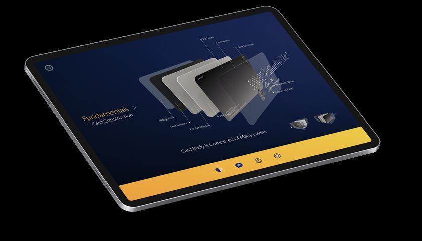 Visa Innovation Card Lab - Tablet