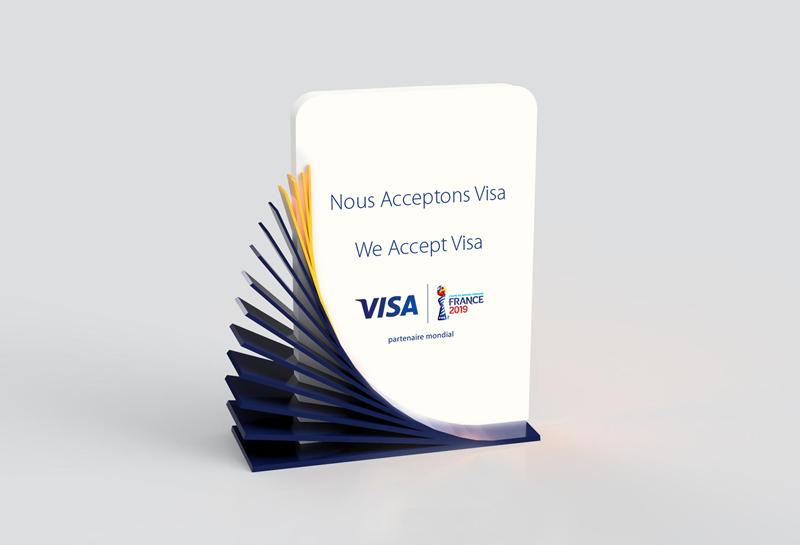 Visa France - We accept Visa