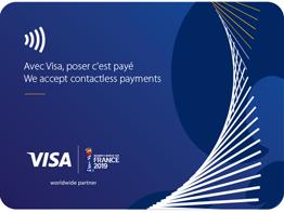Visa France - Women's World Cup card