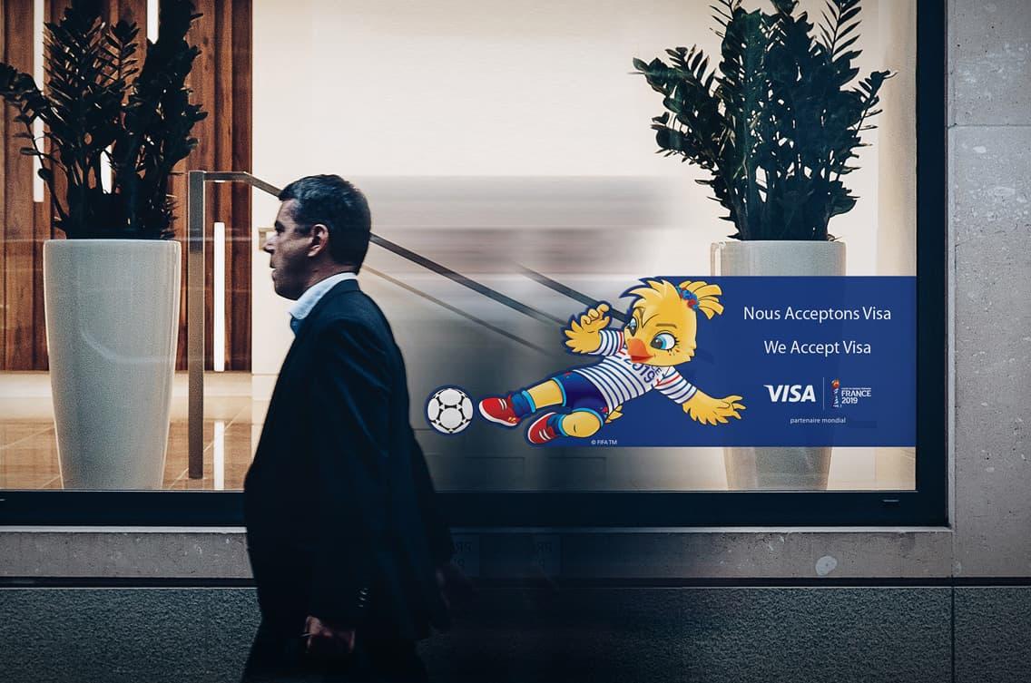 Visa France - Man walking