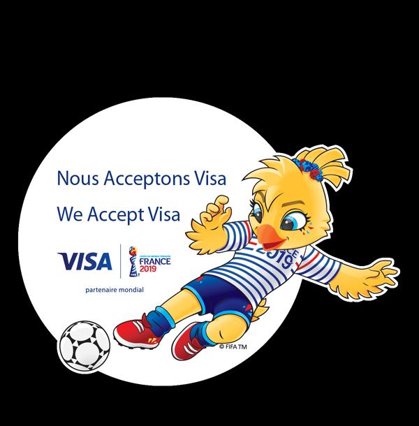 Visa France - Mascot
