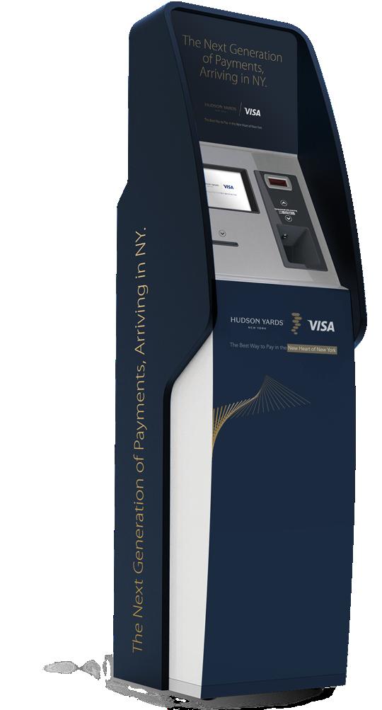 Visa Hudson Yards New York - Cash machine