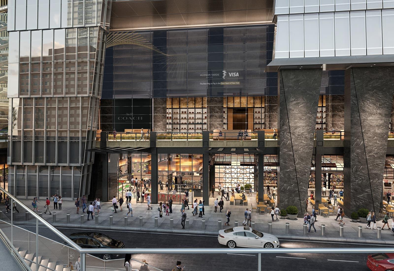 Visa Hudson Yards New York