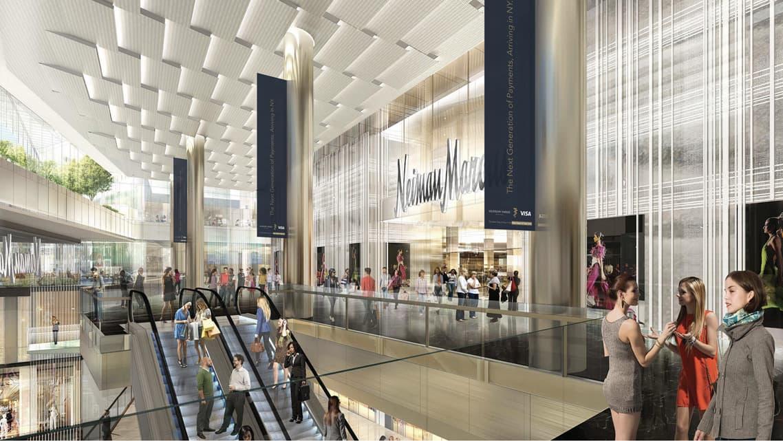 Visa Hudson Yards New York - Shopping