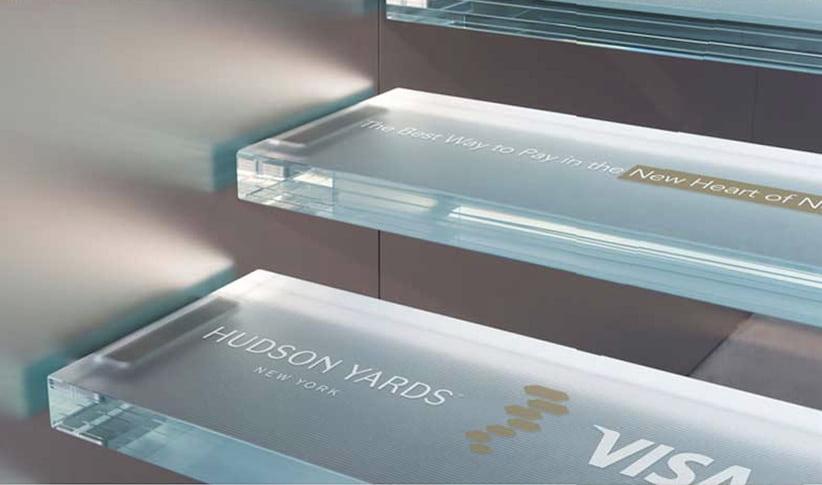 Visa Hudson Yards New York - Stairs