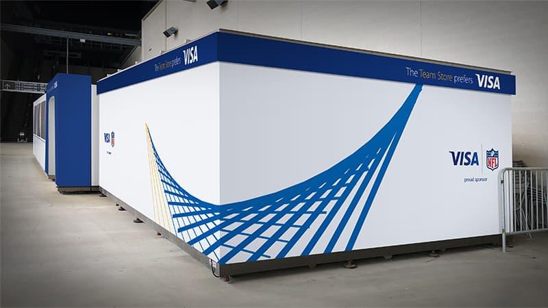 Visa Metlife - Box Wall