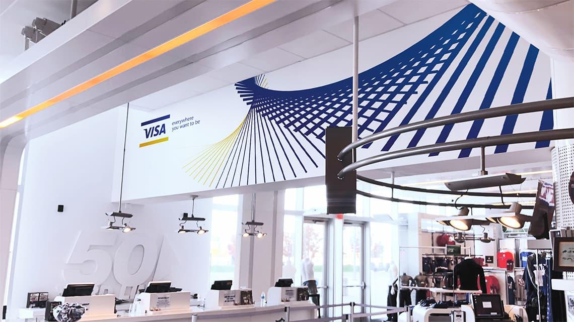 Visa Metlife - Top Wall