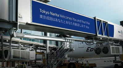 Visa Tokyo 2020 - Tokyo Narita International Airport