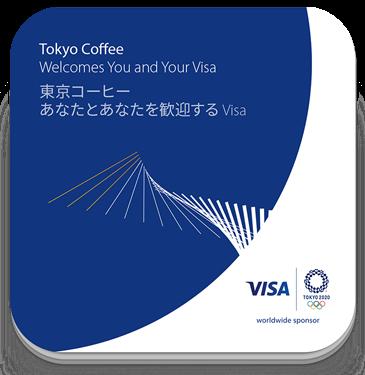 Visa Tokyo 2020 - Tokyo Coffee card