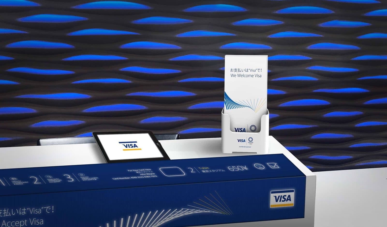 Visa Tokyo 2020 - Desk
