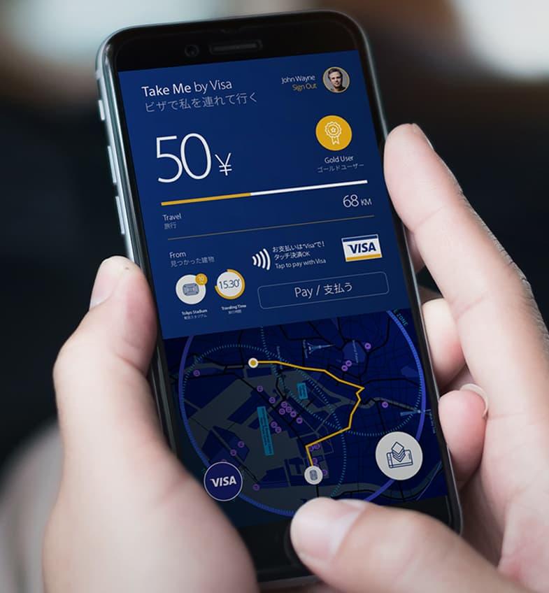 Visa Tokyo 2020 - Mobile