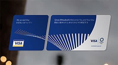 Visa Tokyo 2020 - Mockup
