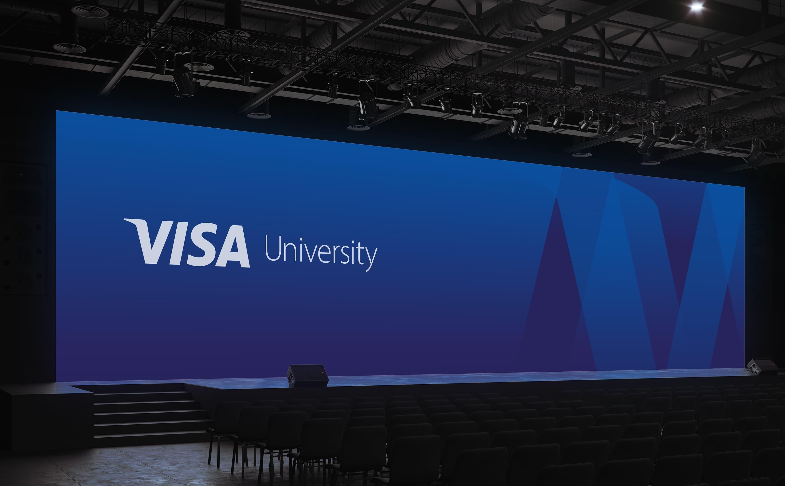 Visa University Brand Update