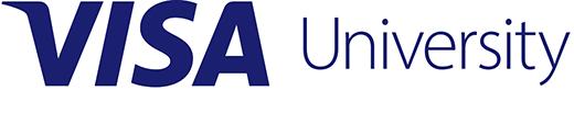Visa University Brand Update - Logo Blue