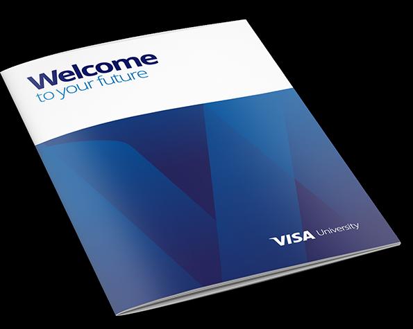 Visa University Brand Update - Magazine