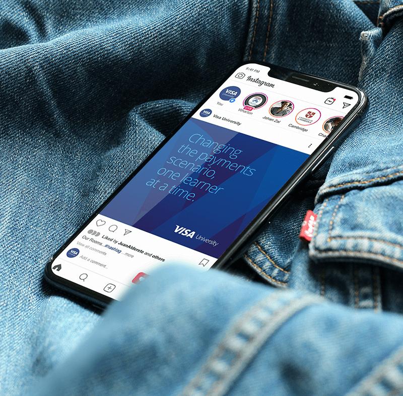 Visa University Brand - Phone
