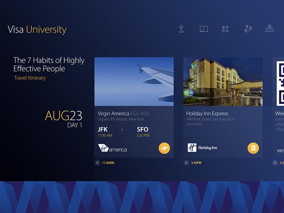Visa University Online Campus - Screenshot