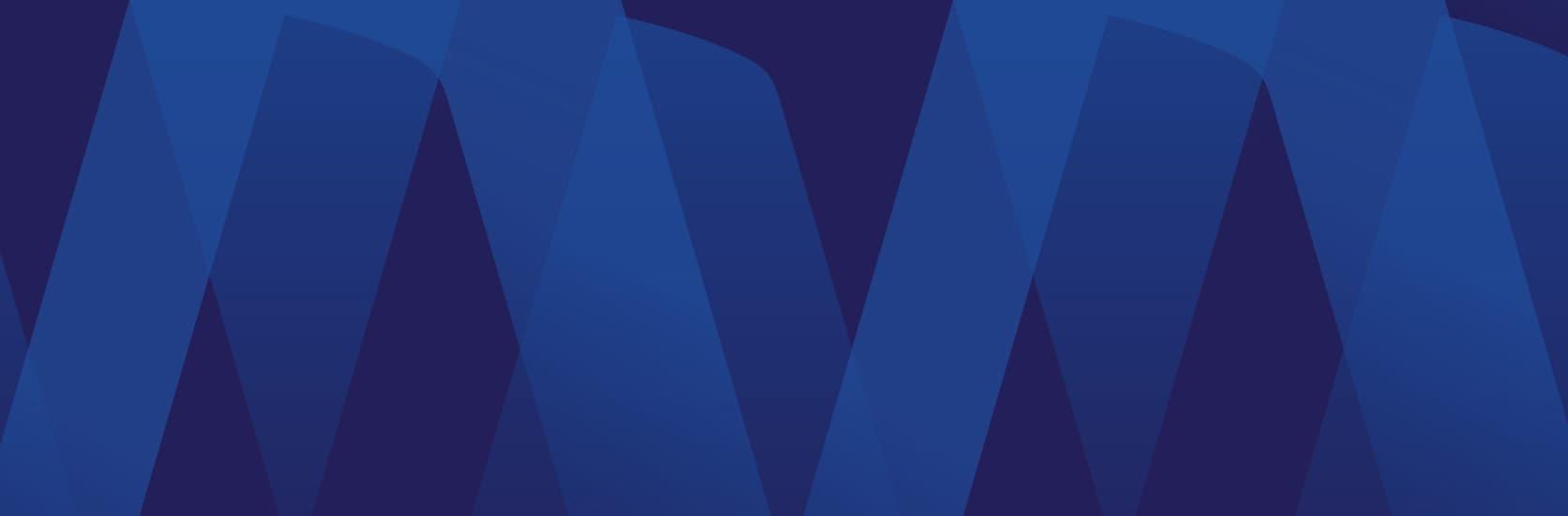 Visa University Internal Brand - Blue pattern