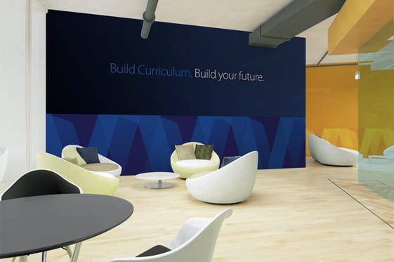 Visa University Internal Brand - Hall