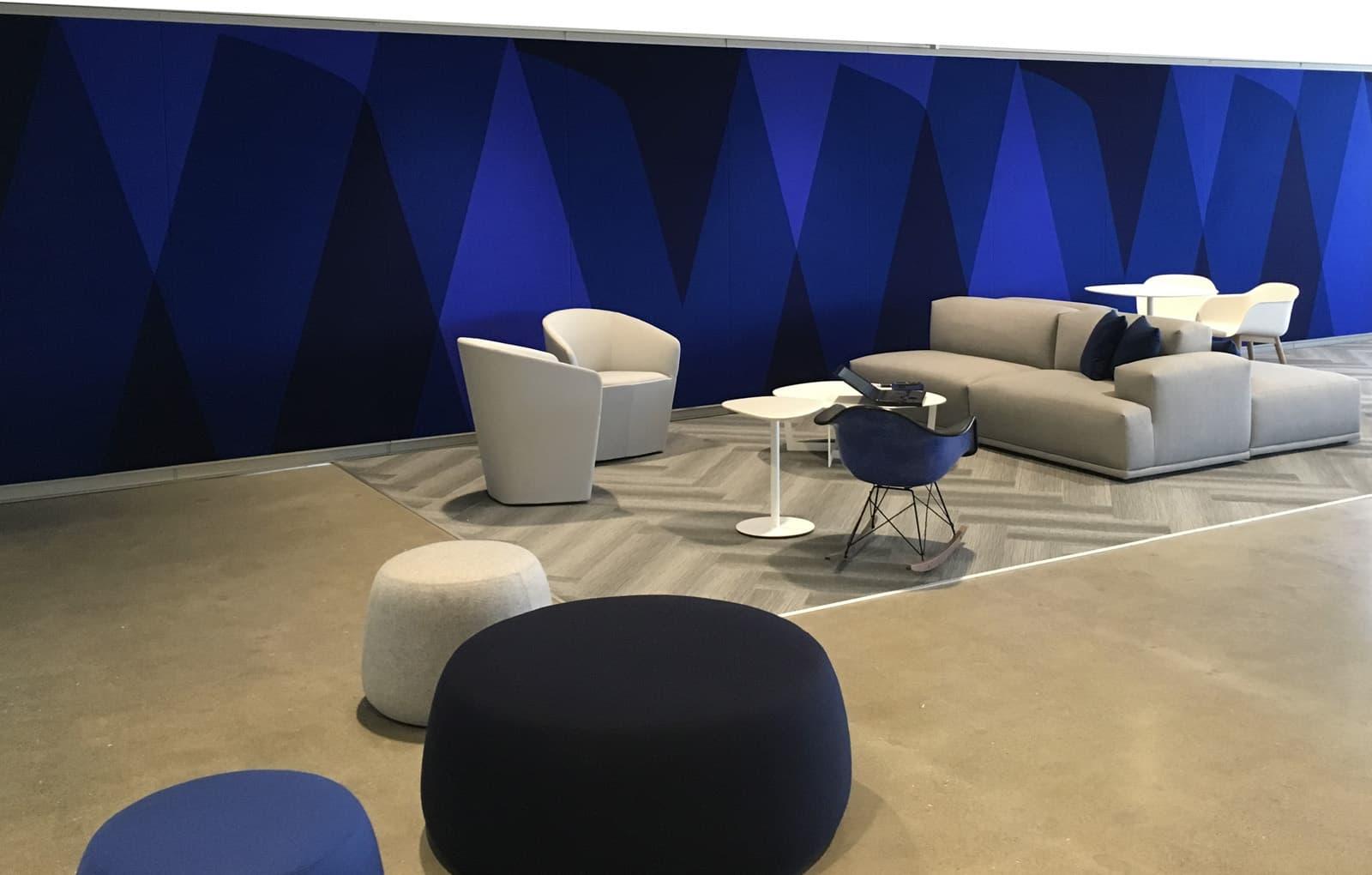 Visa University Internal Brand - Main Lobby