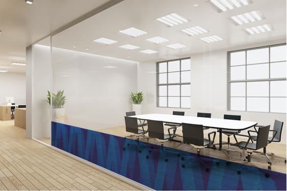 Visa University Internal Brand - Meeting room