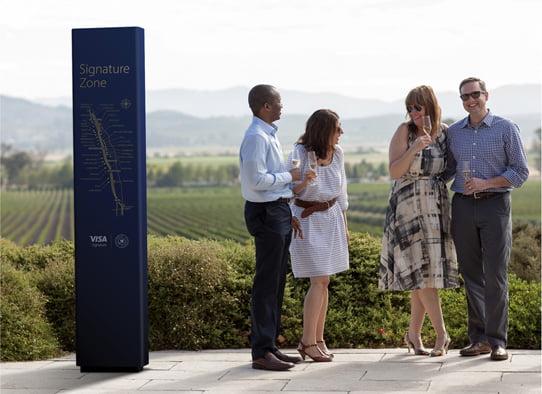 Visa Napa Valley Wineries - People meeting
