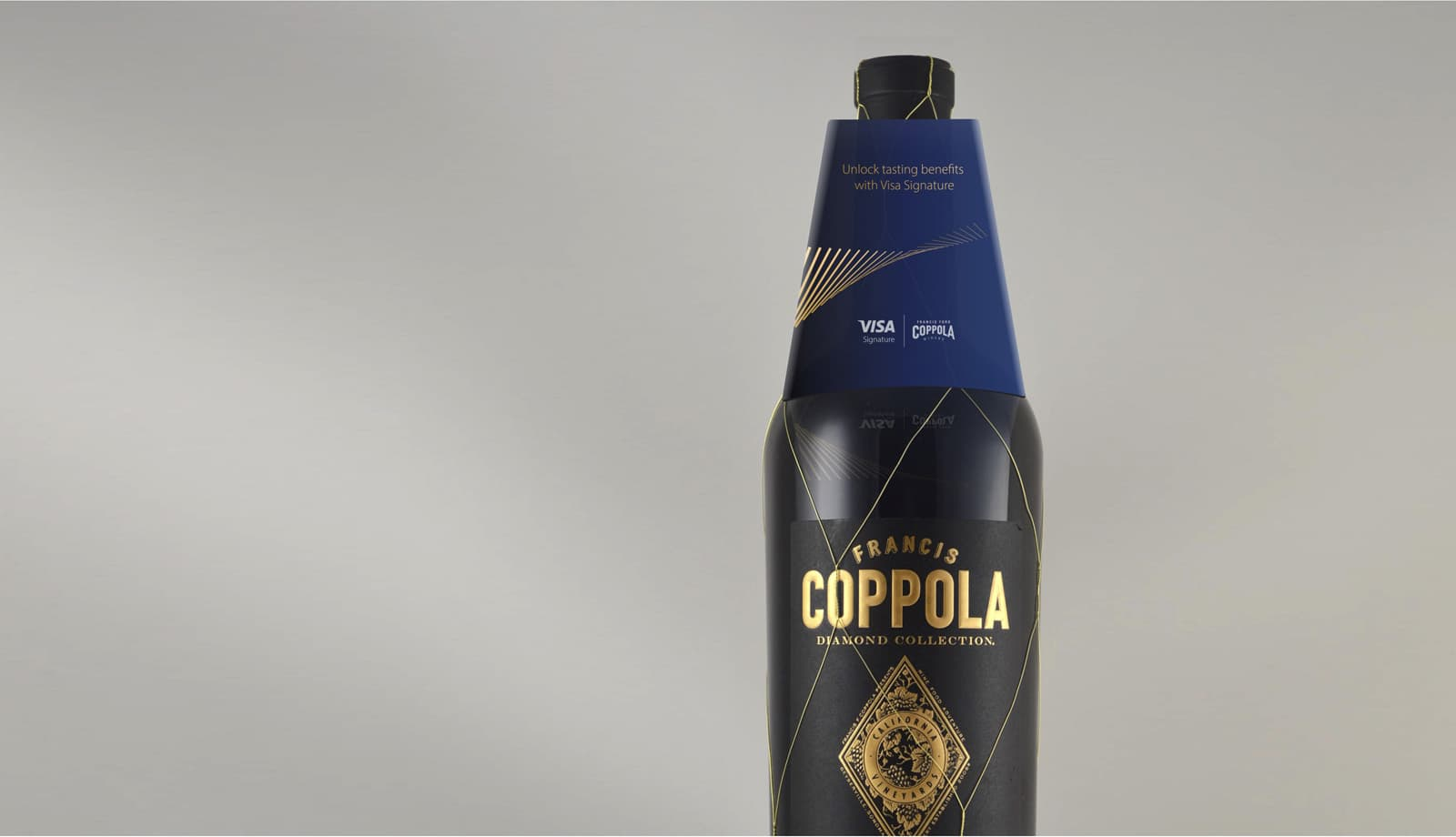 Visa Napa Valley Wineries - Wine bottle