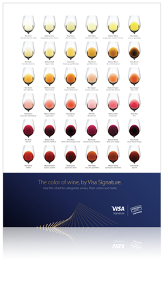 Visa Napa Valley Wineries - The color of wine