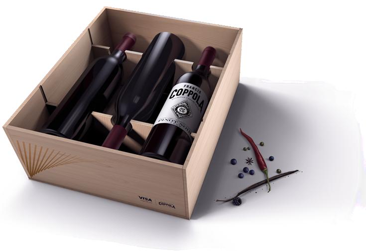 Visa Napa Valley Wineries - Wines box