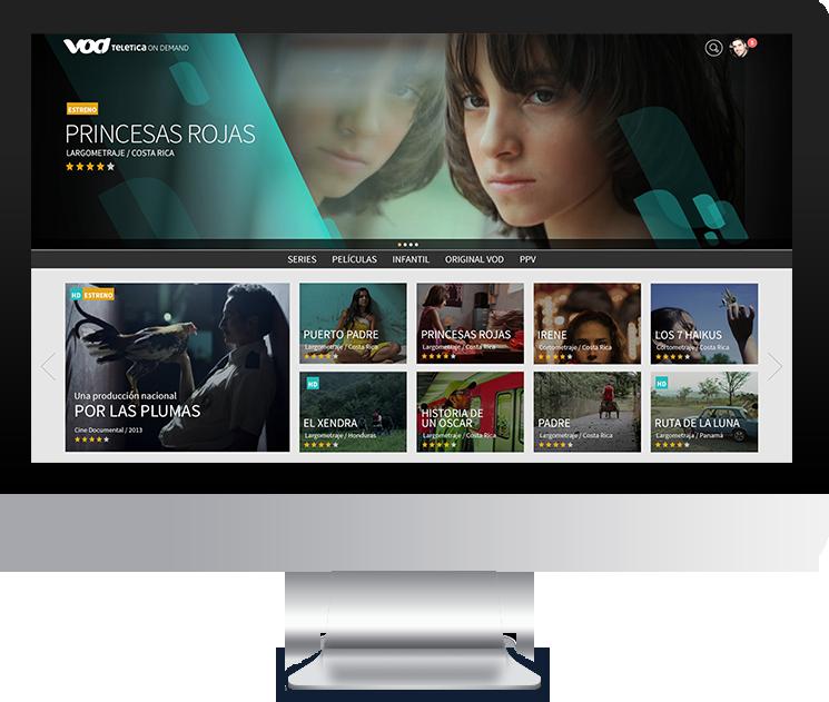 Teletica VOD - iMac