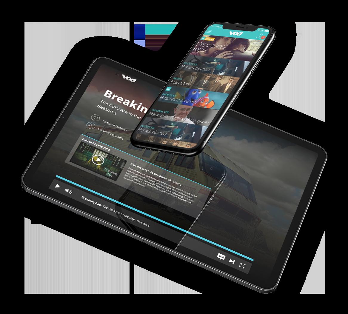 Teletica VOD - iMac / iPhone
