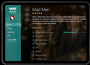 Teletica VOD - iPad