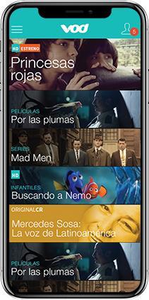 Teletica VOD - Mobile